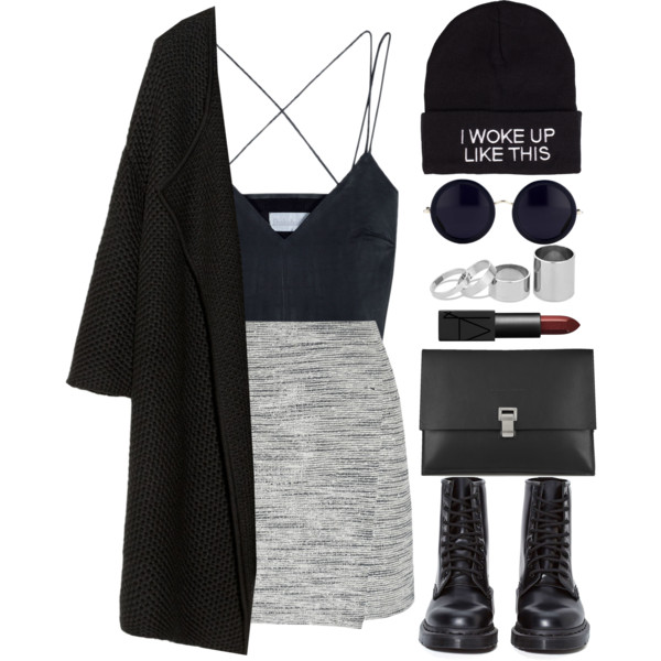 Easy Ways To Wear Black Beanies: 20 Outfit Ideas 2019