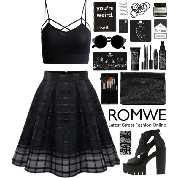 Black Crop Tops Simple Outfit Ideas 2019