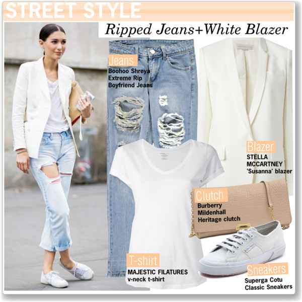 How To Wear White Blazers 2019