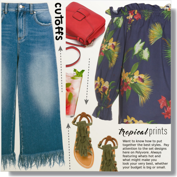 What To Wear With Denim Culottes 2019