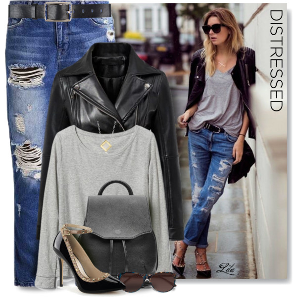 Leather Jackets With Jeans Best Combination 2019