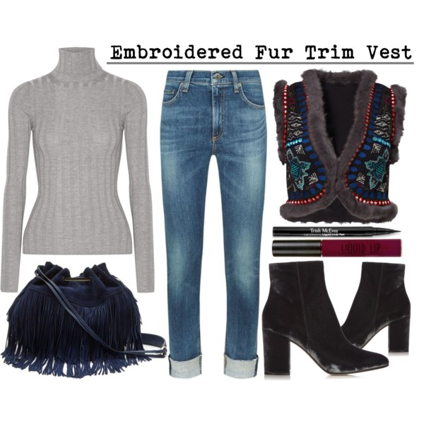 How To Wear Fur Vests With Jeans 2019