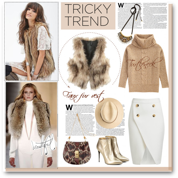 Fur Vests And Skirts To Wear Now 2019