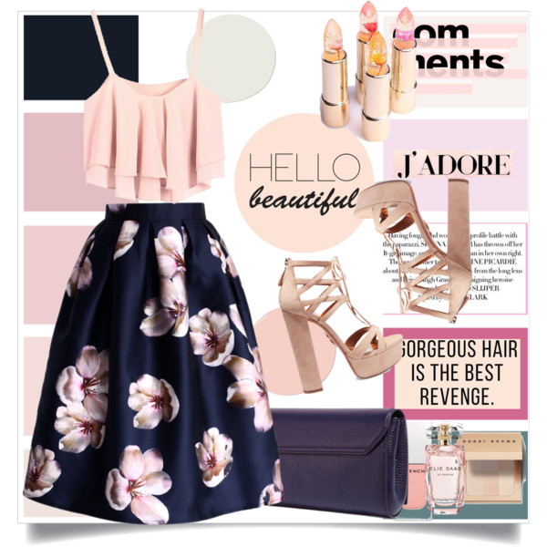 How To Wear Dark Skirts In Floral Print 2019