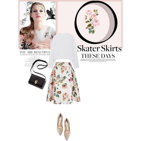 Simple Looks With Floral Skirts 2019