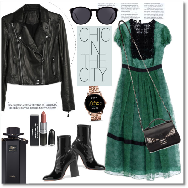 How To Wear Leather Jackets With Dresses 2020