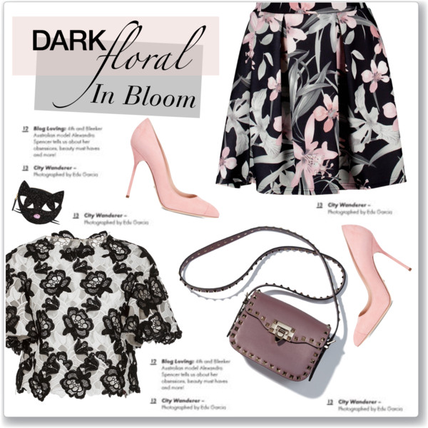 How To Wear Dark Skirts In Floral Print 2021