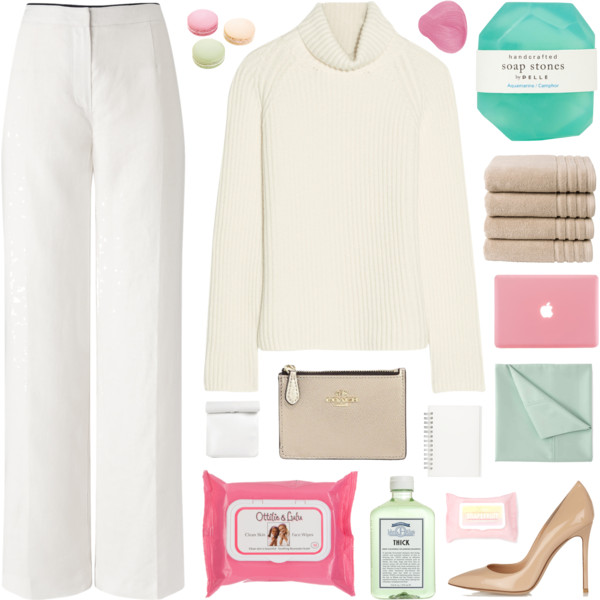 White Turtlenecks For Work And Play 2019