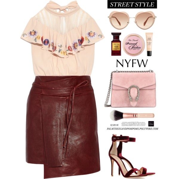 Leather Skirts You Can Wear From Work To Parties 2019