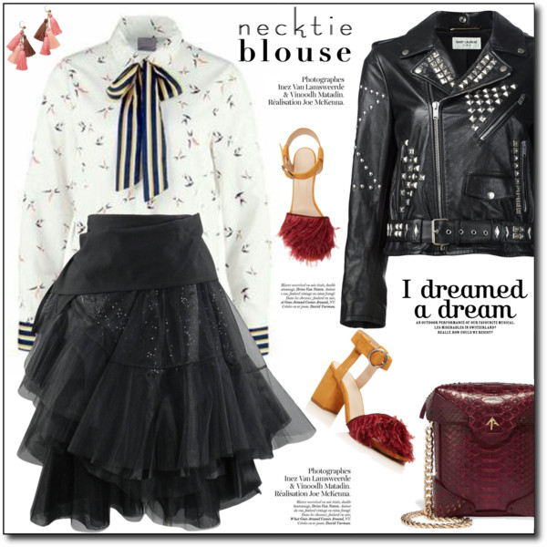 Black Leather Jackets With Skirts Outfit Ideas 2019