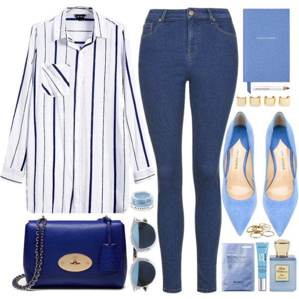 Blue Bags: 8 Easy Looks To Copy 2019