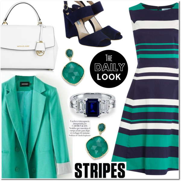 How To Wear Striped Dresses 2020