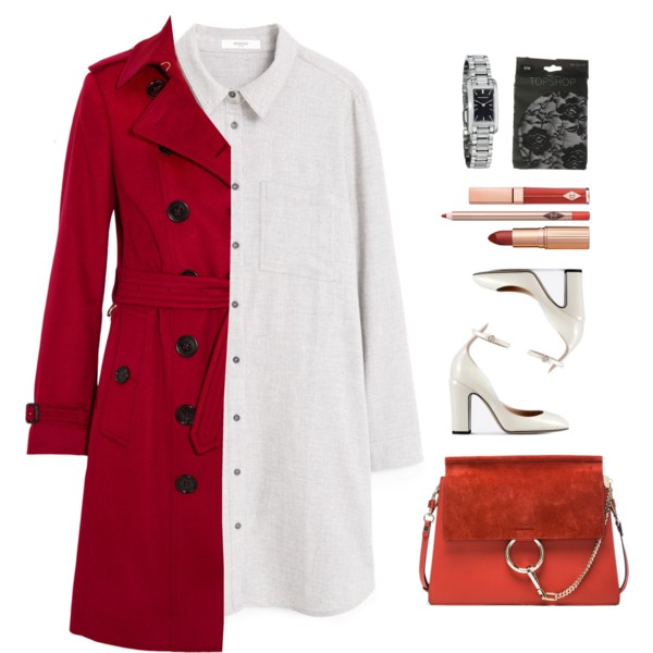 Red Trench Coats For Work And Parties 2020
