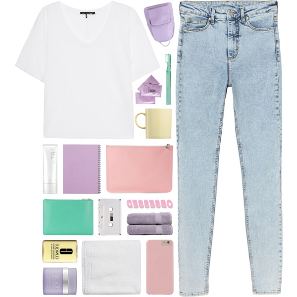Plain White T-Shirt Looks To Copy This Summer 2019