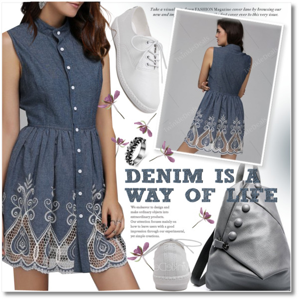 Denim Dresses: Awesome Looks To Try This Year 2020