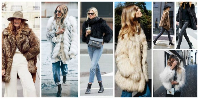 New (Faux) Fur Coats For Winter 2019