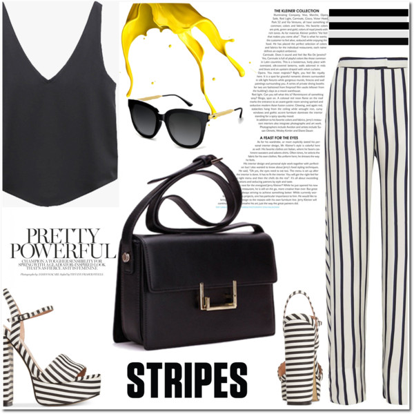How To Wear Striped Pants To Look Awesome 2019