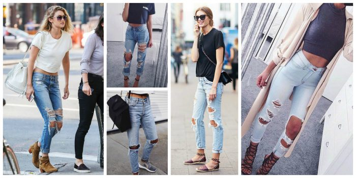 Ripped Jeans Trend Is Still Popular 2019