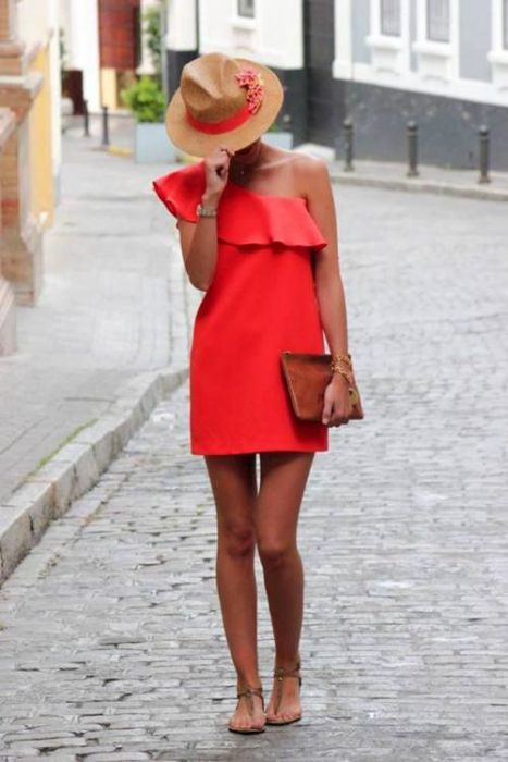 One Shoulder Trend For Women 2019