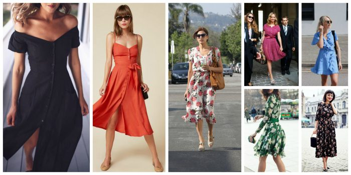 Tea Dresses For Different Body Shapes 2020