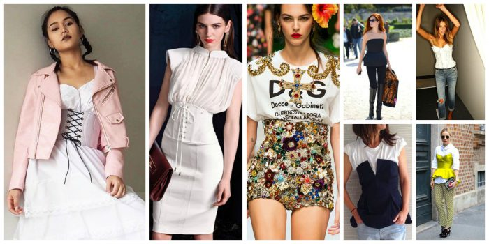 How To Wear CORSET Trend On The Streets 2019