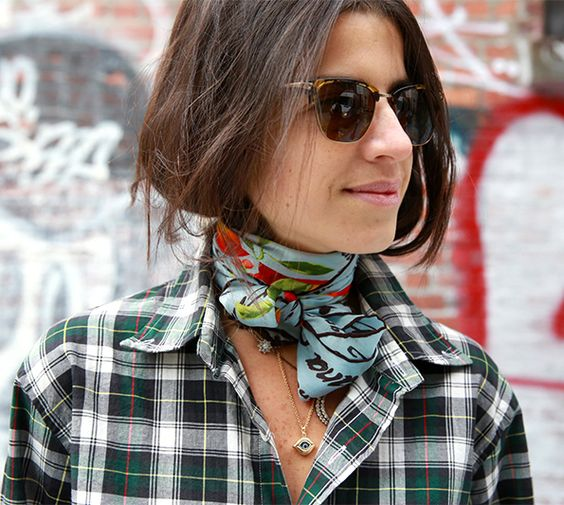 The Neck Scarf Trend 2019