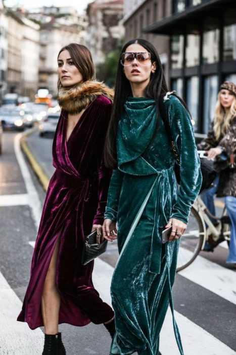 Velvet Clothes And Accessories To Wear Next Season 2019