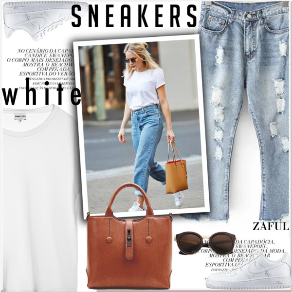 White Sneakers Smart-Casual Outfit Ideas 2019