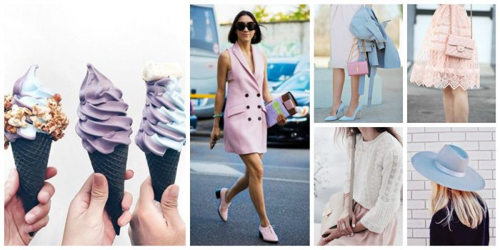 Cream Pastel Clothing Trend For Next Summer 2019