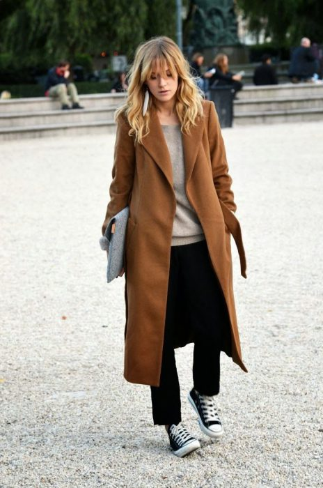 Gray Or Camel Coats Are Popular Right Now 2020