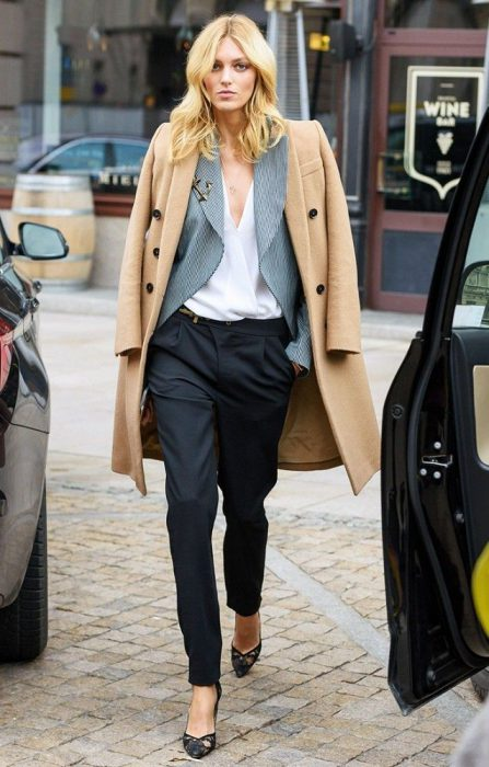 Gray Or Camel Coats Are Popular Right Now 2019