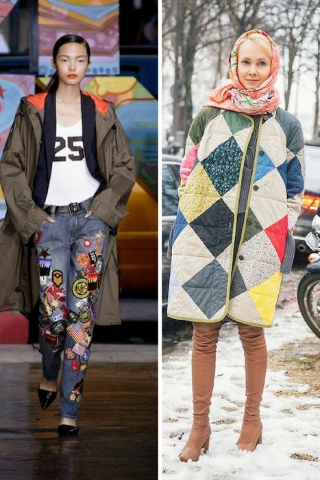How To Wear Patchwork For Women (6)