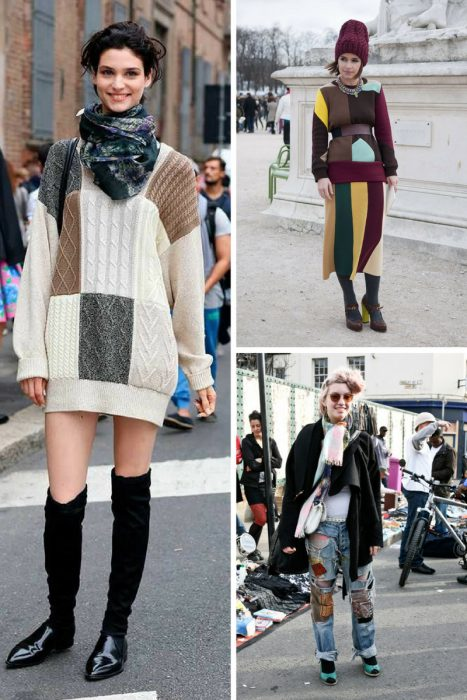 How To Wear Patchwork For Women (8)