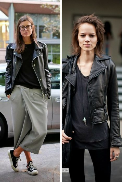 New Ways To Wear Leather Jackets 2019