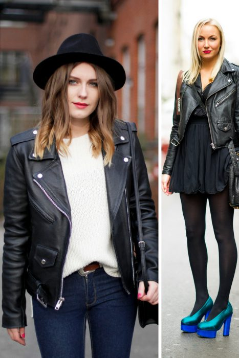 Leather Jackets Outfits (4)