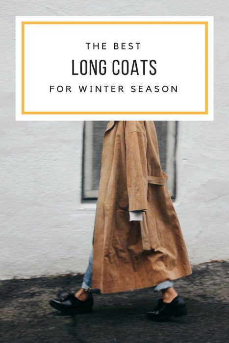 Long Coats For Winter Season 2019