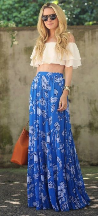 Maxi Skirts Outfit Ideas (17)