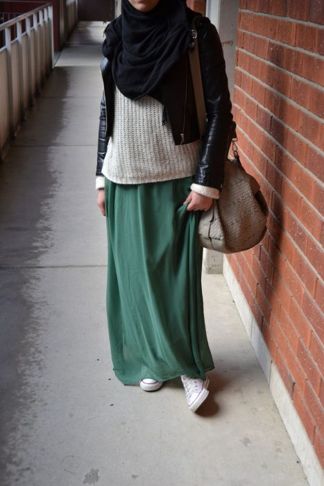 Maxi Skirts Outfit Ideas (19)