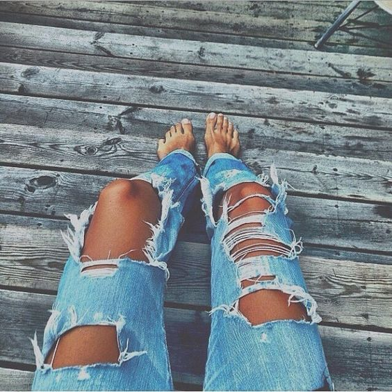 Ripped Jeans For Women 2018 (10)
