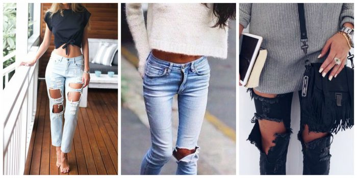 Ripped Jeans For Women 2018 (12)