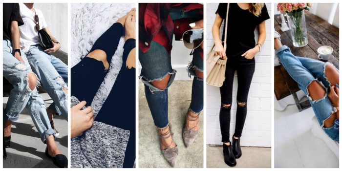 Ripped Jeans For Women 2018 (13)