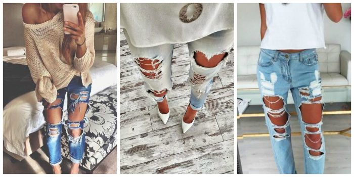 Ripped Jeans For Women 2018 (14)