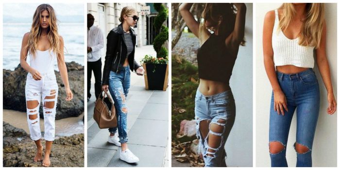 Ripped Jeans For Women 2018 (19)