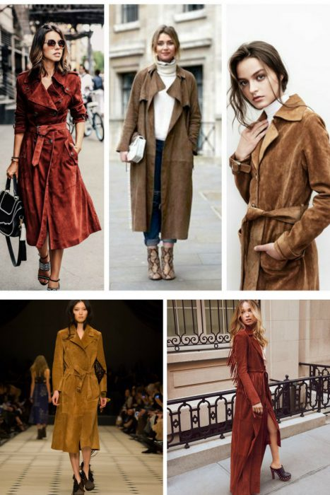 Suede Trench Coats Fall 2017 (10)