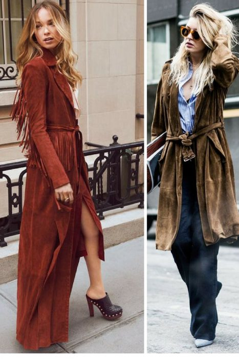 Suede Trench Coats Fall 2017 (2)
