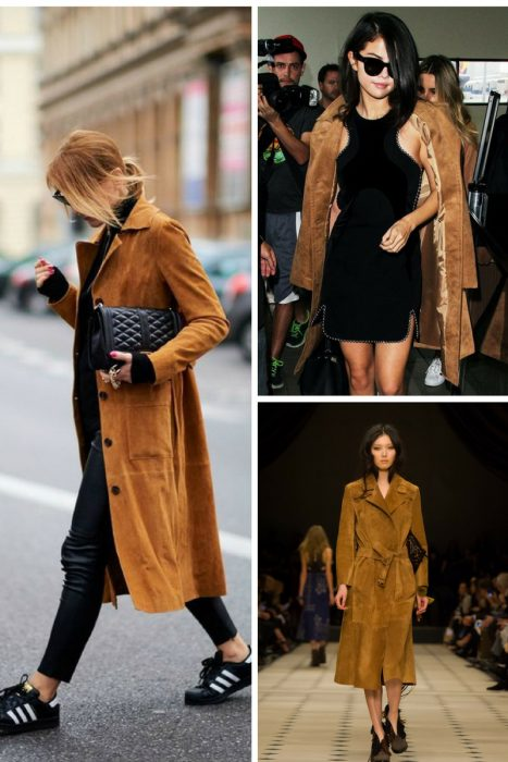 Suede Trench Coats Fall 2017 (4)
