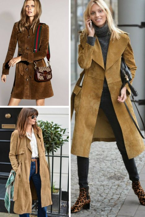 Suede Trench Coats Fall 2017 (6)