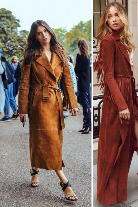 Suede Trench Coats Fall 2017 (7)