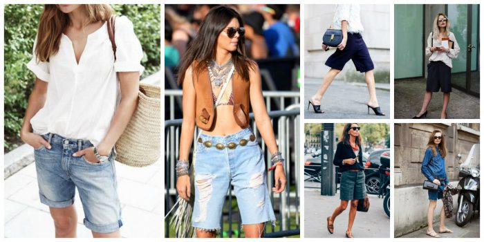 Women Shorts Outfit Ideas 2018 (12)