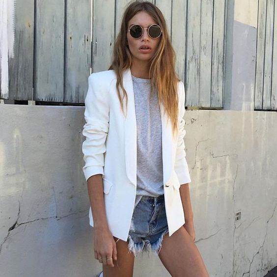 Women Shorts Outfit Ideas 2018 (13)